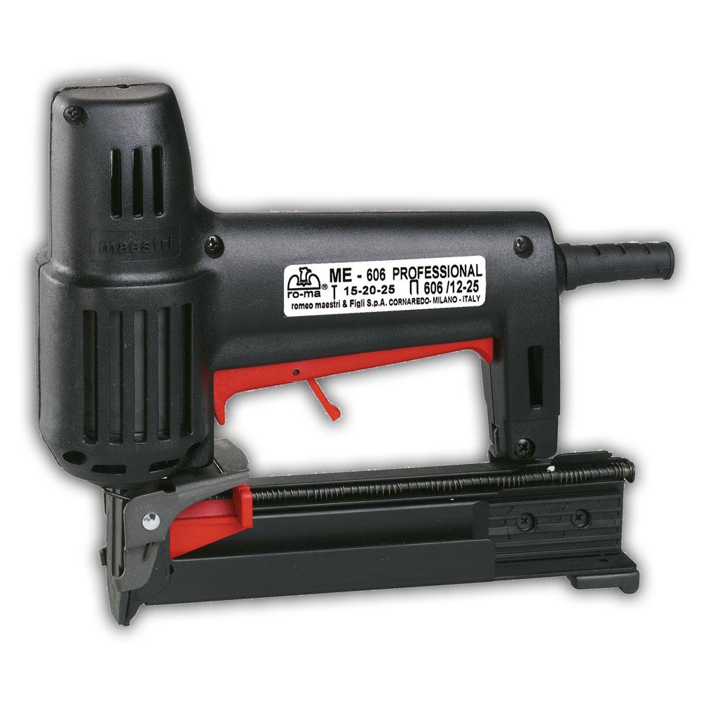 F7051 Maestri ME606 Electronic Staple & Brad Machine