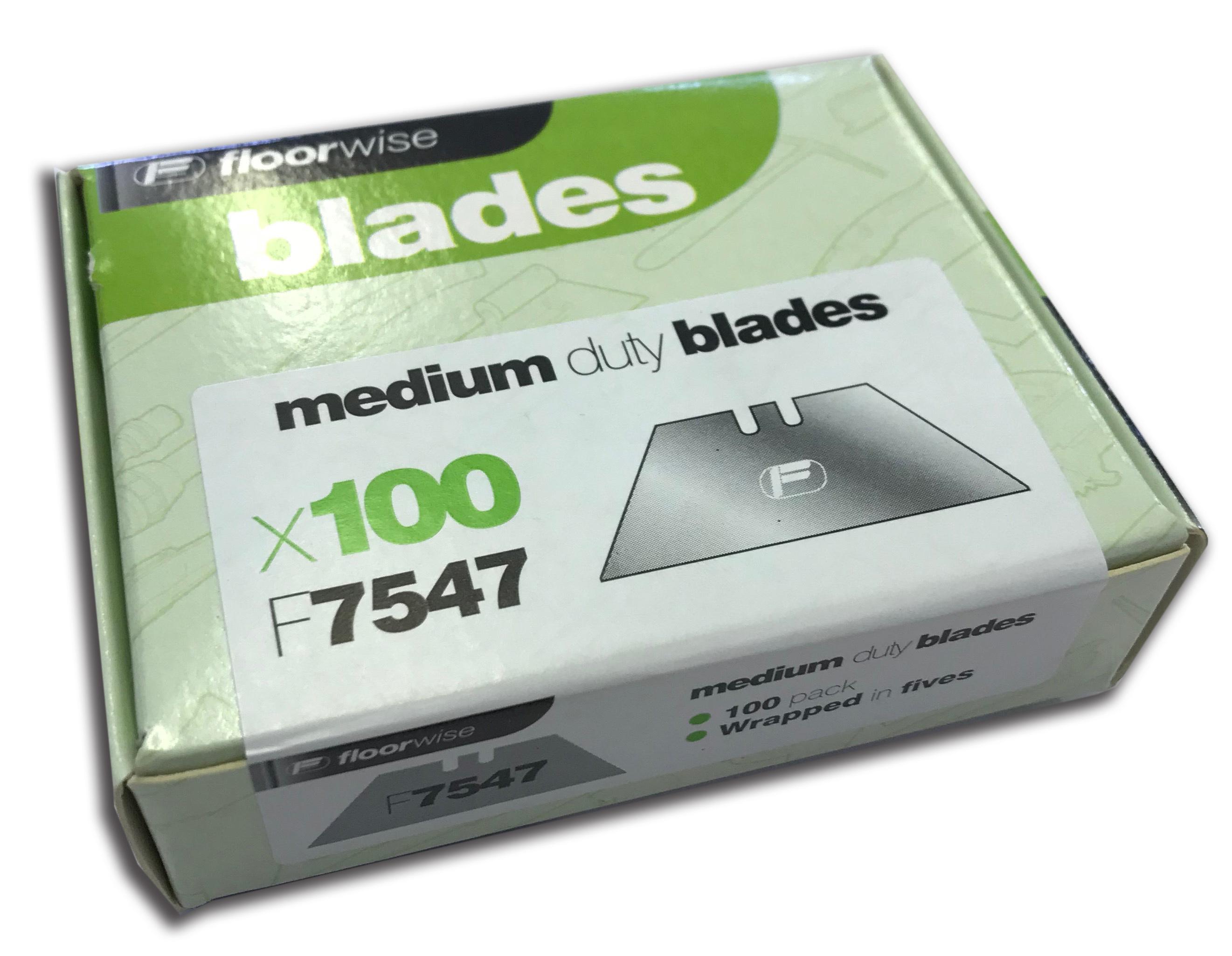 F7547 Medium Duty Blades