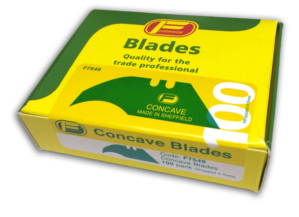 F7549 Concave Blades