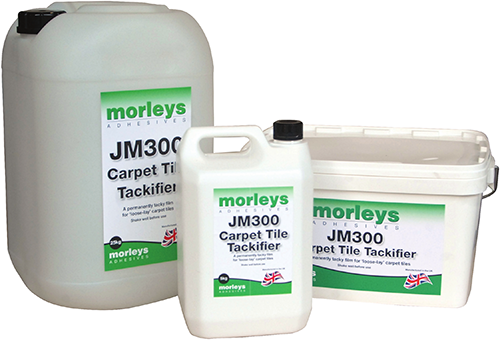 Morleys JM300 Carpet Tile Tackifier